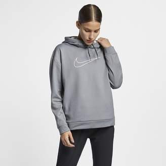 Nike Women's Swoosh Fleece Training Hoodie Therma