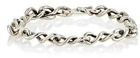 Dean Harris Men's Sterling Silver Random-Link Bracelet