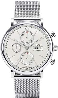 IWC Men's Swiss Automatic Stainless Steel Casual Watch, Color: (Model: IW391009)