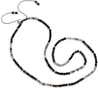 Lola Rose Adjustable Bangle Bar Beaded Necklace