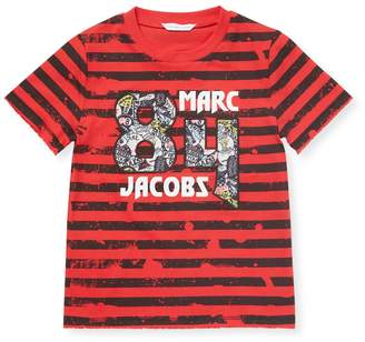 Little Marc Jacobs Little Boy's Patch Graphic Tee