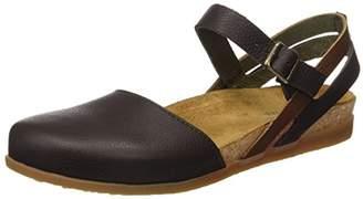El Naturalista Women's NF41 Soft Grain /Zumaia Heeled Sandal