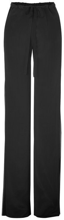 Emilio PucciEmilio Pucci Drawstring Silk Pants in Black