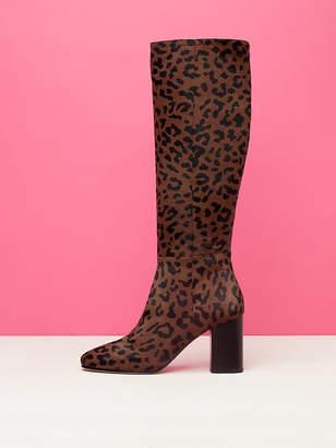 Diane von Furstenberg Reese Leopard Boots