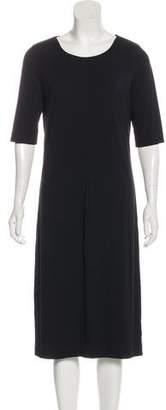 Diane von Furstenberg Short Sleeve Midi T-Shirt Dress