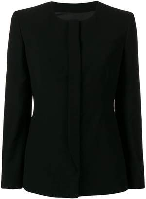Giorgio Armani collarless jacket