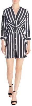 38b8118352 Sandro Camelia Striped Cinched Dress