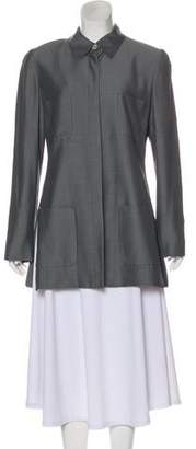 Ellen Tracy Linda Allard Long Sleeve Button-Up Jacket