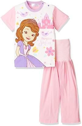 Disney (ディズニー) - (ディズニー) Disney(ディズニー) ソフィア腹巻付きパジャマ 107301 10 ピンク 90