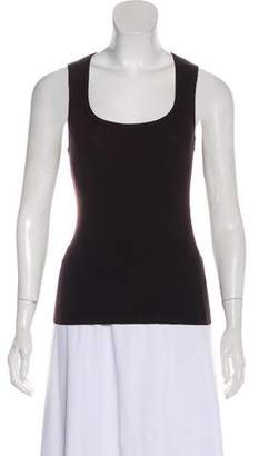 Celine Wool-Blend Sleeveless Top
