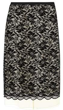 Marc Jacobs Lace overlay skirt