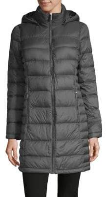 MICHAEL Michael Kors THE COAT EDIT Long Packable Puffer Coat