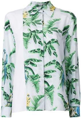 Stella McCartney exotic print shirt
