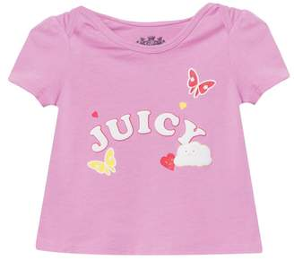 Juicy Couture Rainbow Love Short Sleeve Tee for Baby