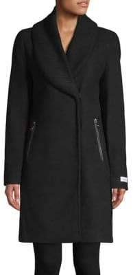 Calvin Klein THE COAT EDIT Shawl Collar Coat