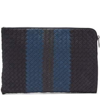 Bottega Veneta Intrecciato leather document holder