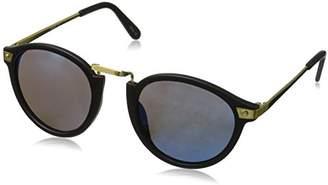 Zerouv ZV-8591k Vintage-Inspired Round Horned Rim P-3 Frame Retro Sunglasses
