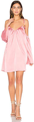 Line & Dot Rampling Mini Dress in Pink $126 thestylecure.com