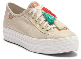 Keds Triple Kick Tassel Platform Sneaker