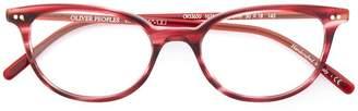 Oliver Peoples Gracette round frame glasses