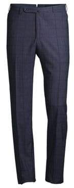 Incotex Benson Technowool Plaid Pants