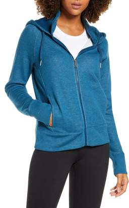 Zella Nola Full Zip Hooded Sweatshirt