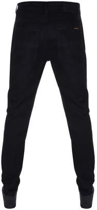 Nudie Jeans Lean Dean Slim Tapered Jeans Dry Black