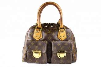 Louis Vuitton Manhattan cloth handbag