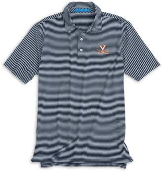 Southern Tide UVA Cavaliers Striped Polo Shirt