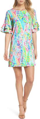 Lilly Pulitzer R) Lula Ruffle Sleeve Dress