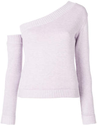 Miahatami one shoulder fitted jumper