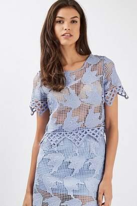 Glamorous Womens **Crochet T-Shirt