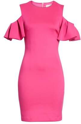 Ted Baker Salnie Cold Shoulder Sheath Dress
