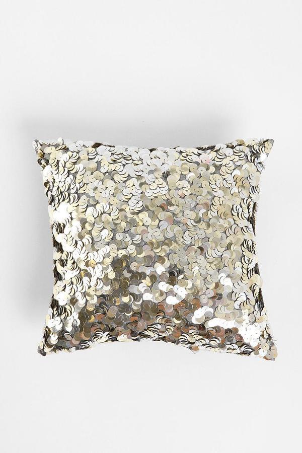 Sequin Swirl Pillow
