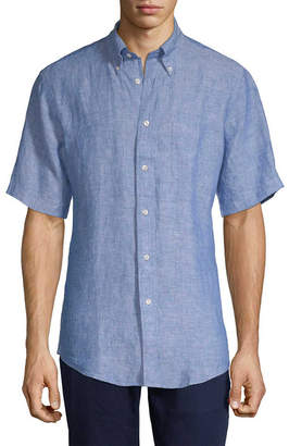Brooks Brothers Linen Button-Down Shirt
