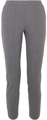 Alexander Wang French Cotton-terry Track Pants - Gray