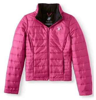 Beverly Hills Polo Club Quilted Packable Puffer Coat (Little Girls & Big Girls)