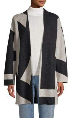 Eileen Fisher Wool Kimono Cardigan