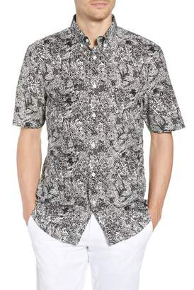 1901 Regular Fit Scribble Print Sport Shirt