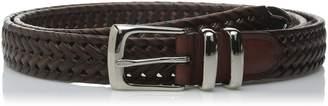 Perry Ellis Men's Big-Tall Portfolio Braided Belt
