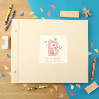 Made by Ellis Personalised Baby Alphabet Photo Album