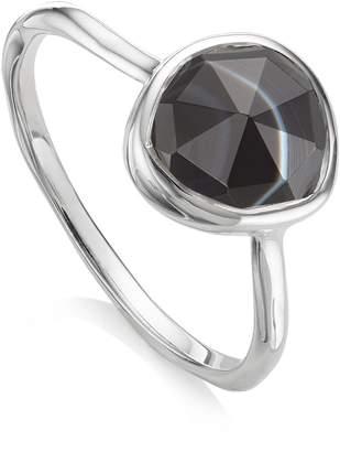 Monica Vinader Siren Black Onyx Stacking Ring