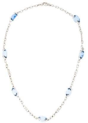 Judith Ripka 18K Diamond & Crystal Olivia Station Necklace