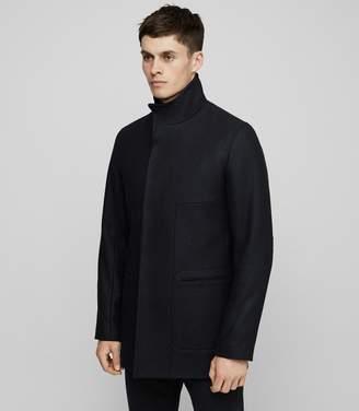 Reiss Brute Funnel Collar Jacket