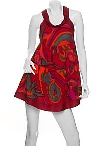 M Missoni Swirl Babydoll Dress