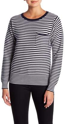 Lucky Brand French Stripe Pullover Sweater