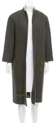 Valentino Embellished Long Coat