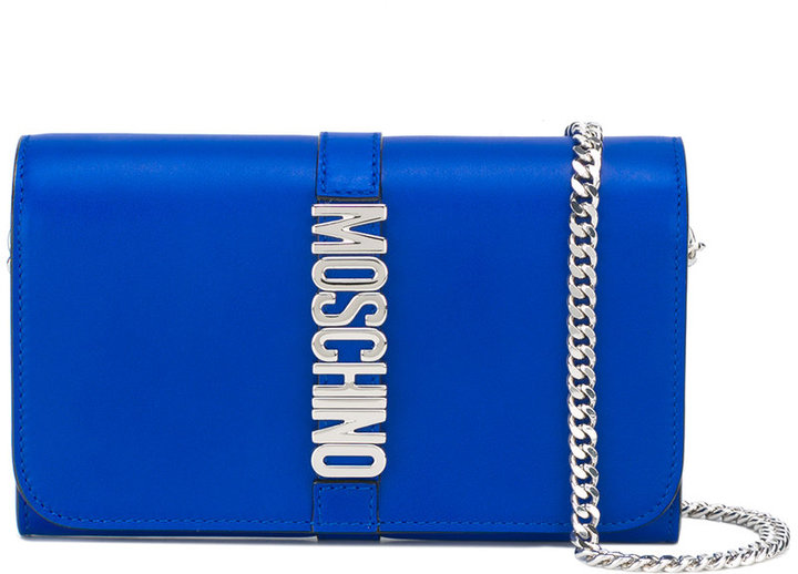MoschinoMoschino Letters chain wallet