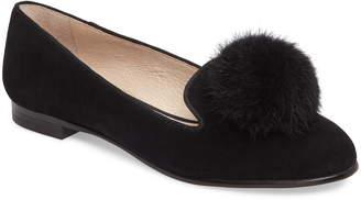 33408d17e91 Louise et Cie Andres Genuine Rabbit Fur Pom Loafer