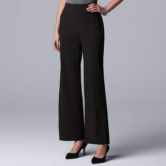 24e2f1d0ec Vera Wang Women's Simply Vera Wide-Leg Utility Pants